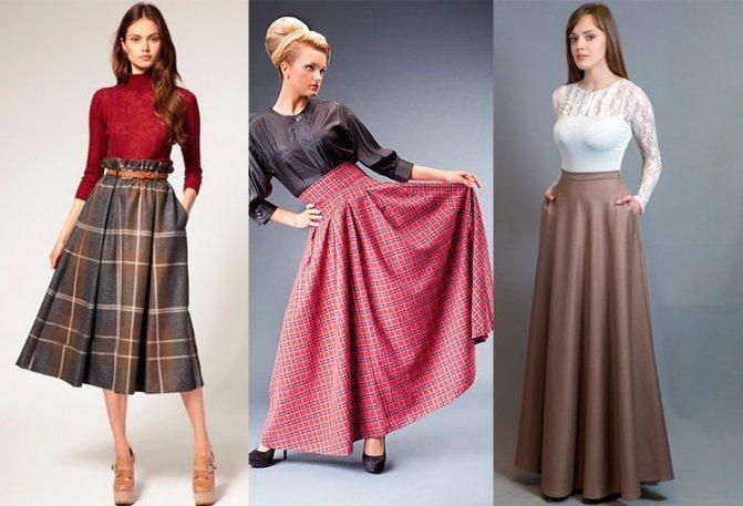 Как самой сшить длинную красивую юбку для посещения храма, церкви своими руками: выкройки, фото