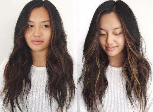 как сделать блики на волосах