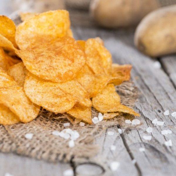 как сделать чипсы с духовке