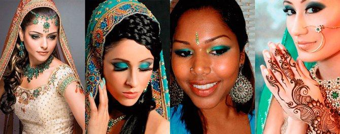 Как сделать индийский макияж в домашних условиях