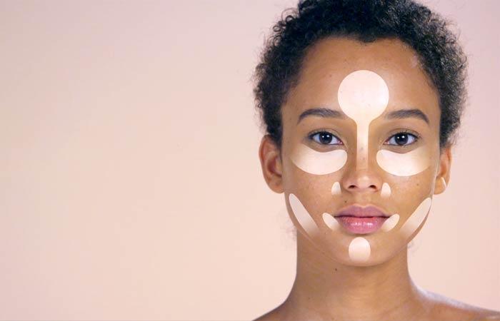 Как Сделать Контур Вашего Лица-Подсветка Для Овального И Продолговатого Лица