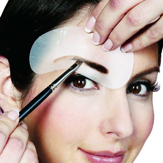 Как сделать красивые брови с помощью окрашивания