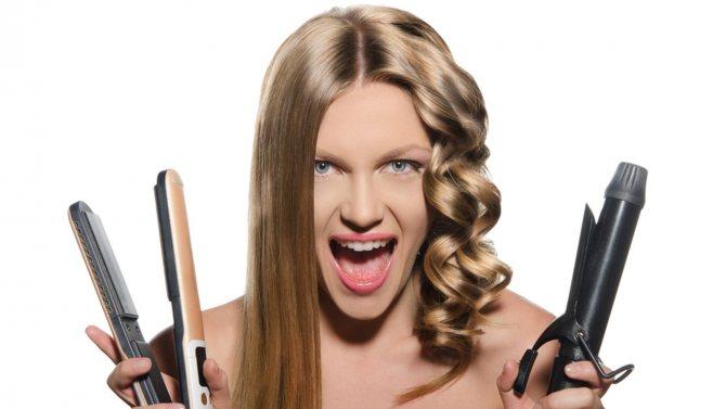 Как сделать красивые локоны утюжком для волос: полезные советы и руководство с фото