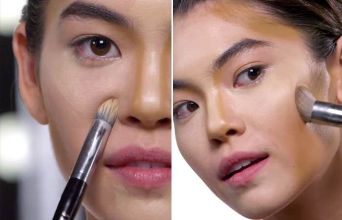 как сделать макияж лица