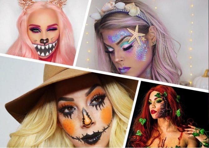 Как сделать макияж на Хэллоуин своими руками: 9 лучших и запоминающихся образов пошагово