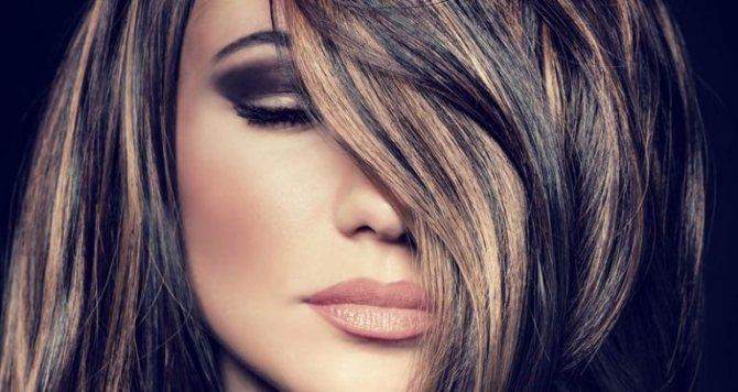 Как сделать мелирование на черные волосы: какие бывают виды, цвета и рекомендации?