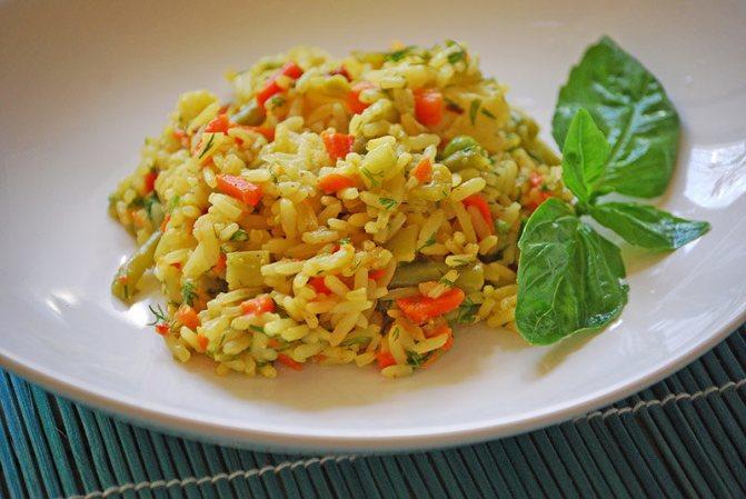 как сделать рис в мультиварке