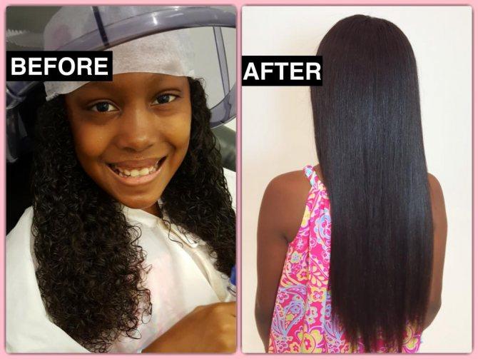 Как сделать волосы прямыми навсегда