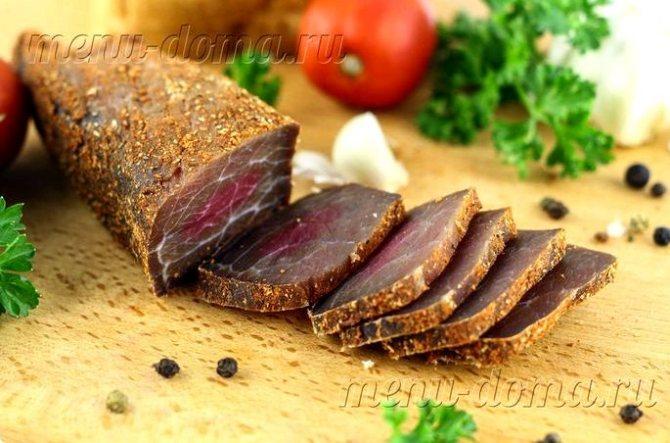 Как сделать вяленое мясо в домашних условиях пока тушка сохнет