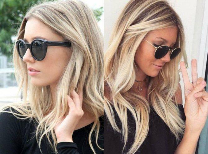 Как сделать затемнение у корней блондинки