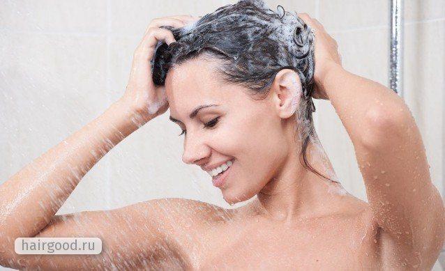 Как смягчить воду для мытья волос