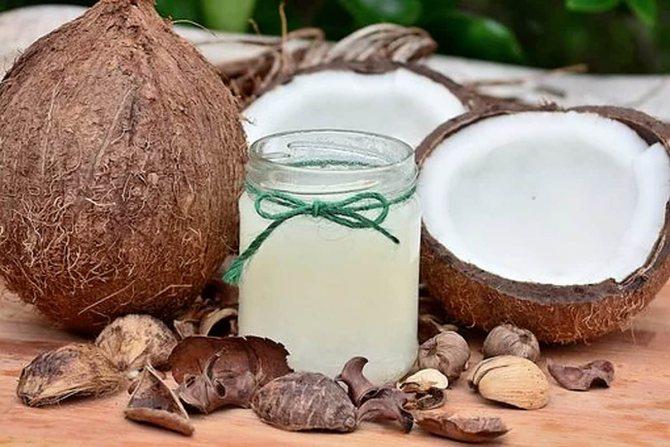 Как смыть краску с волос кокосовым маслом