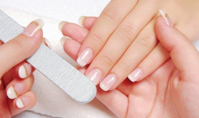 Как снять ногти в домашних условиях