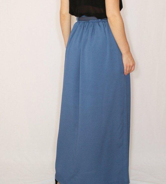 Как сшить юбку в церковь, храм с карманами: модели