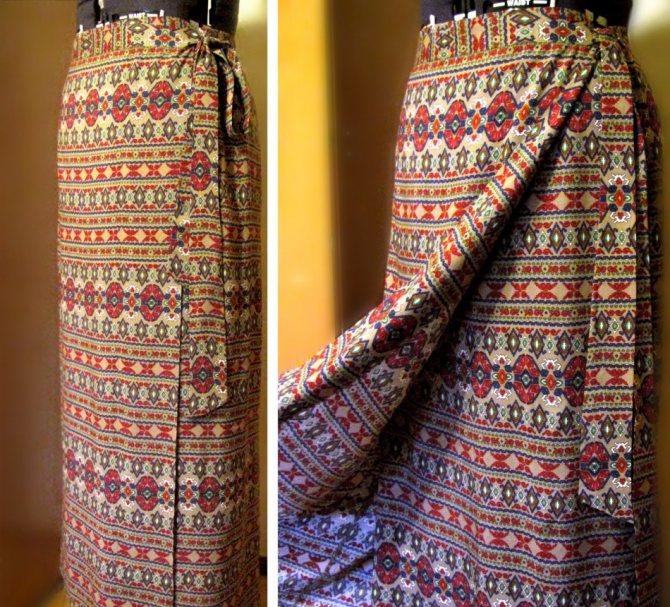 Как сшить юбку в церковь, храм с запахом: модели, выкройки, фото