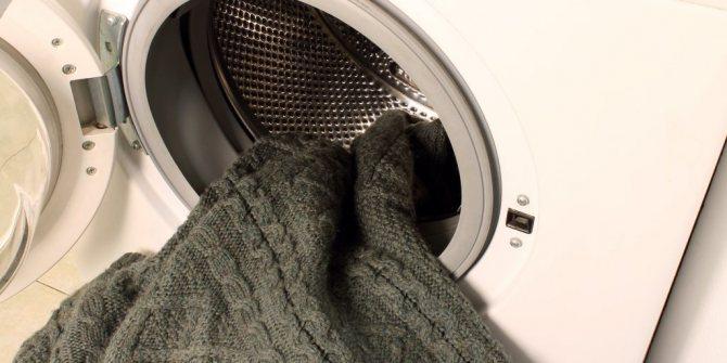 как стирать и сушить одежду