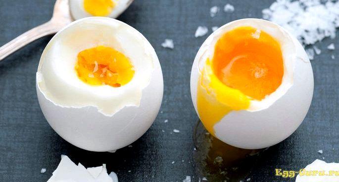 Как сварить яйцо всмятку в кипящей воде Если яйца сразу же опустятся