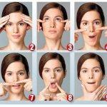 Как убрать щеки на лице девушке быстро