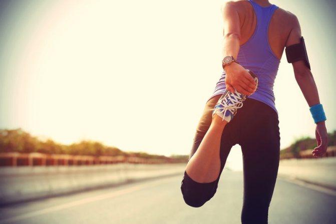 как убрать жир с колен