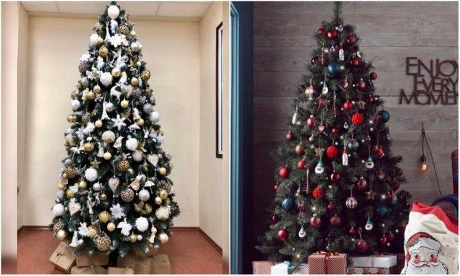 Как украсить елку на Новый год 2019: идеи