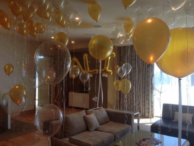 Как украсить комнату на день рождения мужа