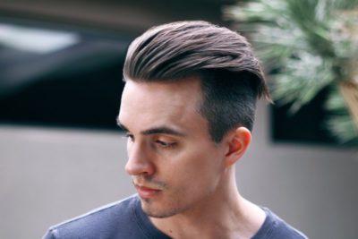как уложить волосы мужчине назад