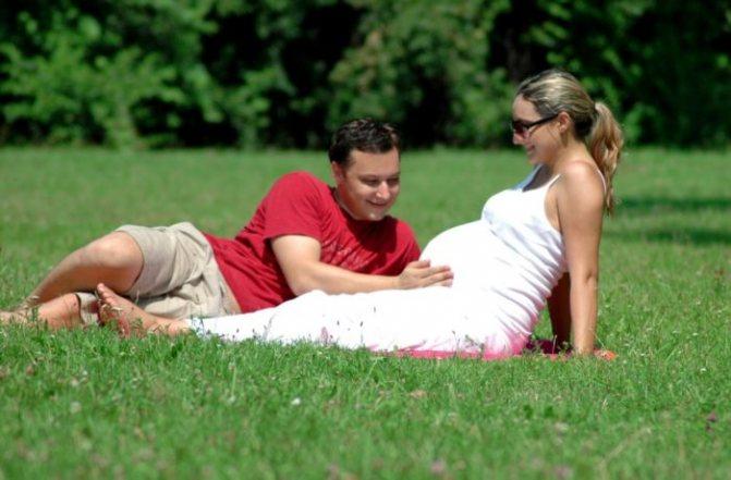 Как вести себя мужьям беременных?