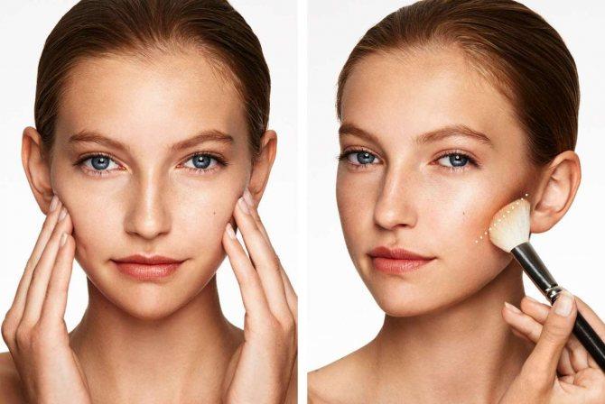 Как визуально уменьшить лицо