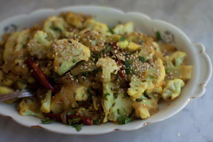 как вкусно пожарить цветную капусту на сковороде рецепт