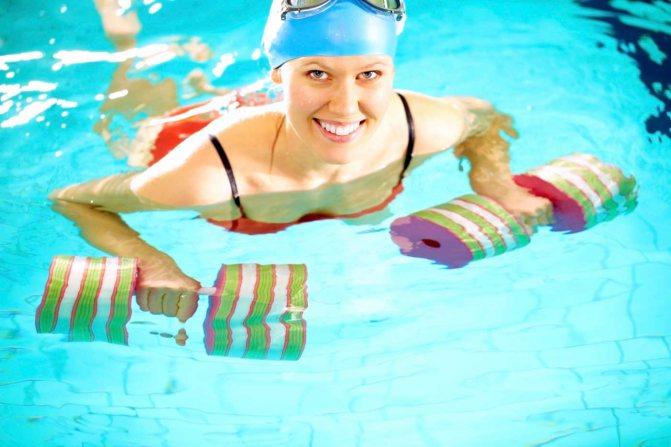 Если ходить на бассейн можно похудеть