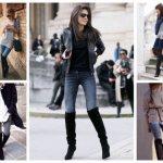 Как выбрать сапоги ботфорты и с чем носить - фото7