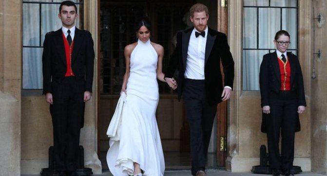 Как выглядел второй наряд Меган Маркл на свадьбе
