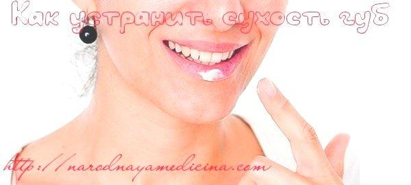 как вылечить губы от сухости и трещин в домашних условиях