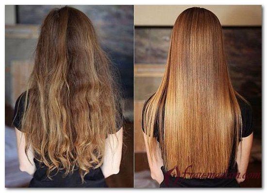 как выпрямить кудрявые волосы навсегда