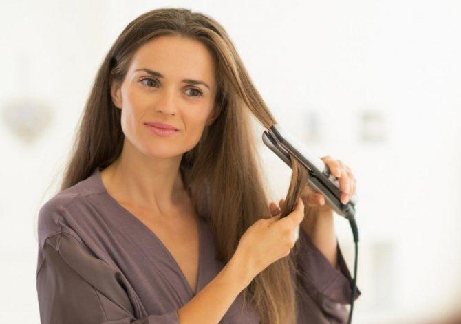 Как выпрямлять волосы навсегда
