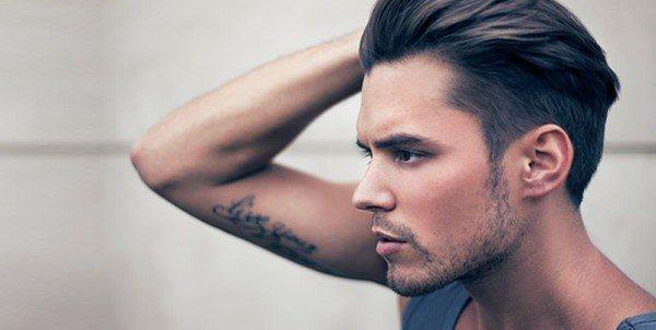Как зачесать волосы назад мужчине?