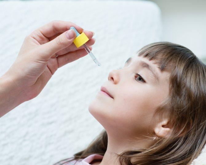 Как закапывать персиковое масло в нос детям?