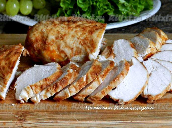 Как запечь куриное филе в духовке Очень для