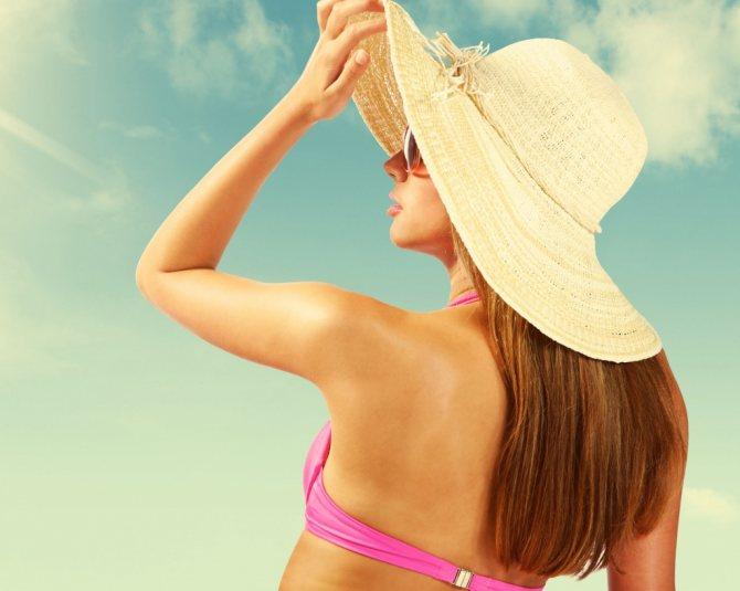 Как защитить волосы от солнца Фото 1
