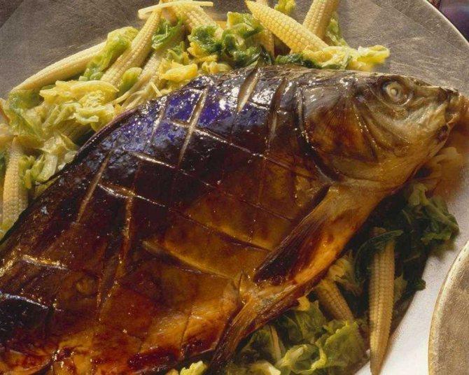 Как зажарить рыбу в духовке с корочкой