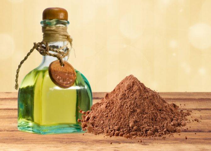 Какао и оливковое масло