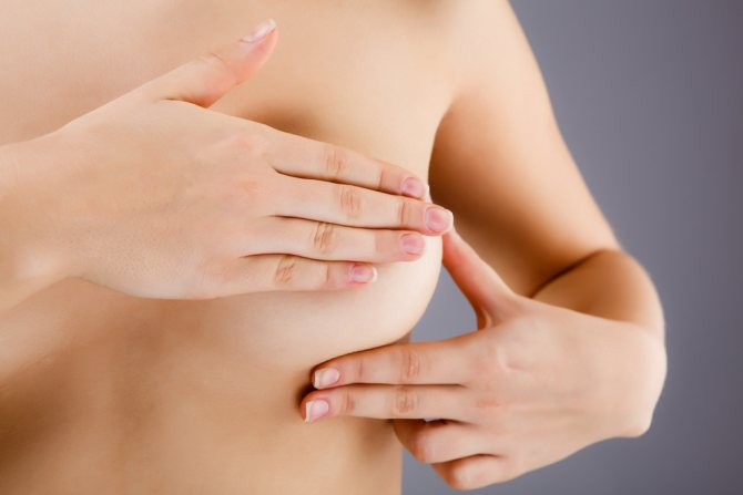 Какая должна быть на ощупь здоровая грудь. Какой должна быть грудь на ощупь