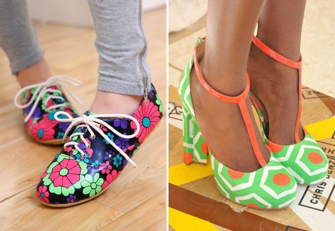 какая весенняя обувь сейчас в моде