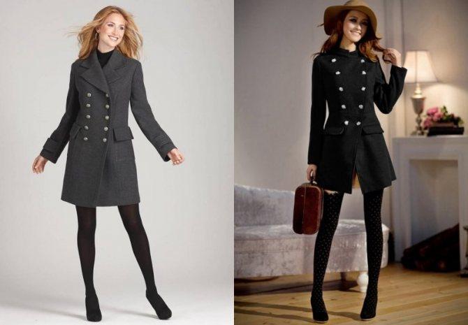 Какие бывают женские демисезонные пальто - Редингот - Модные рекомендации