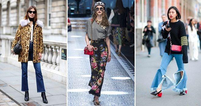 какие джинсы сейчас в моде клеш