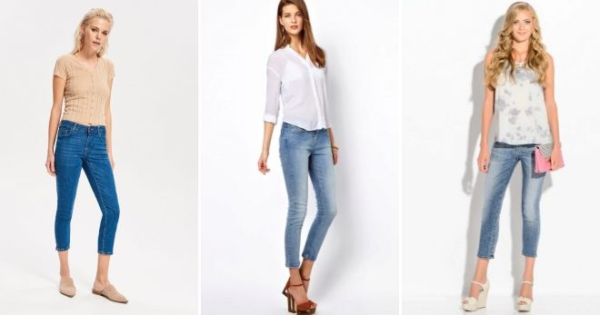 Какие джинсы сейчас в моде корткие
