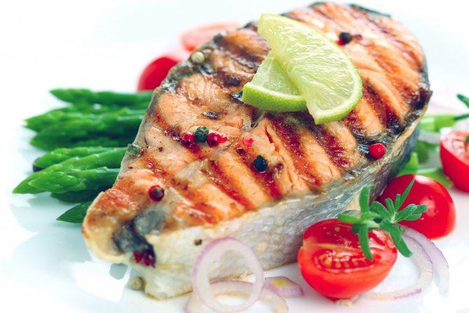 Какие овощи сочетаются с рыбой