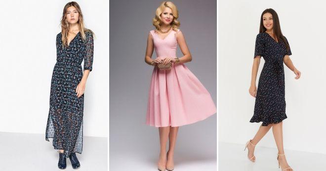Какие платья сейчас в моде идеи
