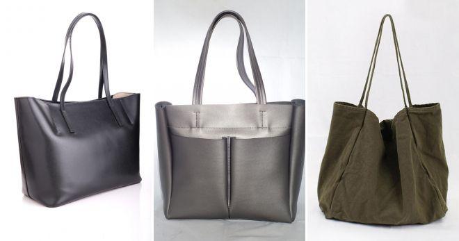 Какие сумки сейчас в моде шоппер