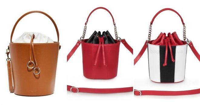 Какие сумки сейчас в моде ведро